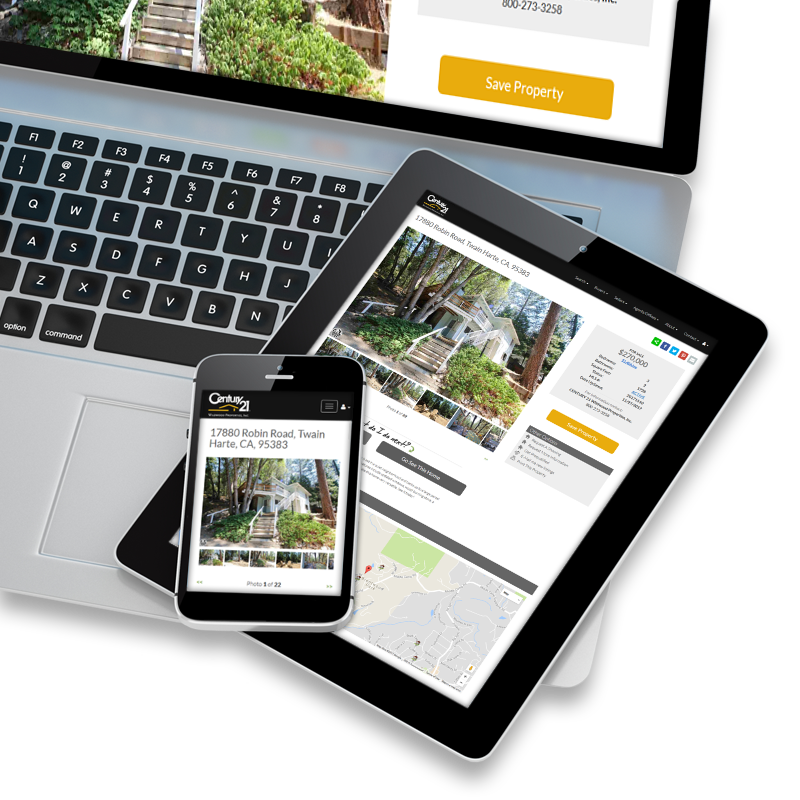 Receive New Real Estate Listing Updates via E-mail, Save Properties, Share and More!