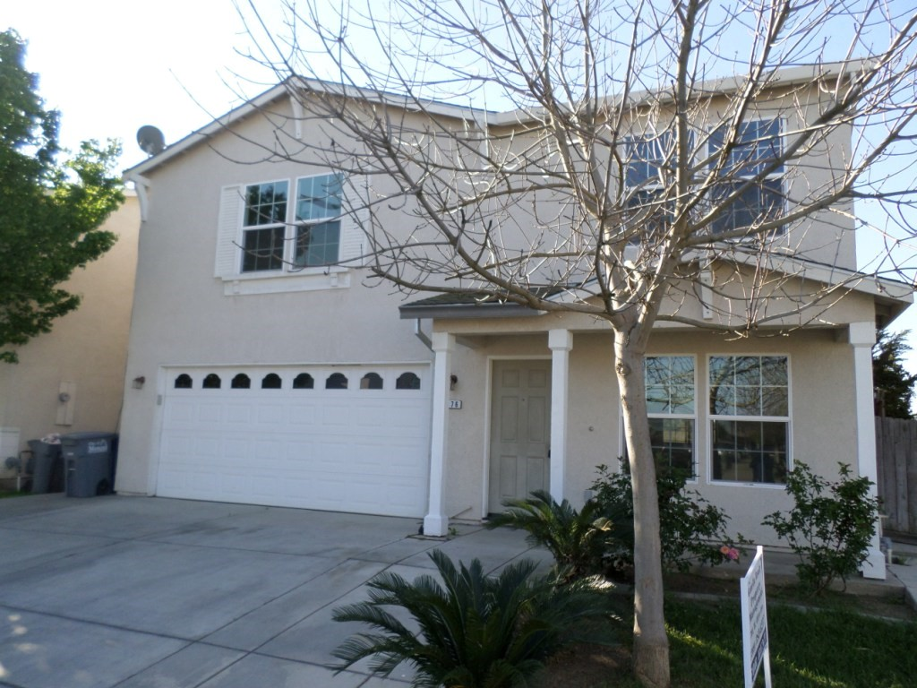 Rent $1400 Deposit $1400 1276 Brightday (R Street, Left on W. Yosemite, Right on El Redondo, Right on Aurora,  Right on Morningside, Left on Brightday) 2348 sf 2-story  New carpeting, Living room, family room,  dining room, laundry room, covered patio.   Lease Term:   1 year To obtain a credit application, click on APPLICATION Tab Above.  Credit Check required = $20 processing fee per applicant (Payable by cashiers' check or money order) All tenants are required to obtain renters insurance of at least 50K prior to signing lease. FOR MORE INFORMATION – CALL GONELLA PROPERTY MANAGEMENT AT (209)383-6277!  Gonella Realty Inc. DBA Gonella Property Management CalBRE#01103054