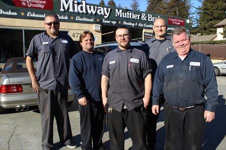 Midway Muffler & Brake El Sobrante, CA
